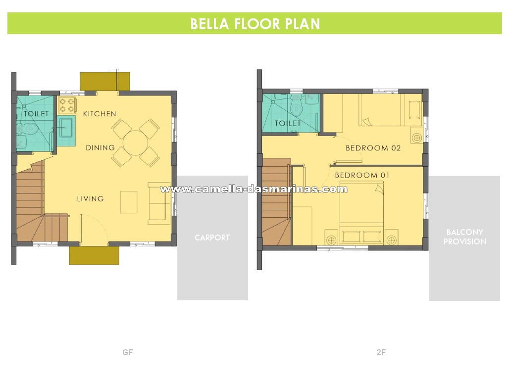 Bella  House for Sale in Dasmarinas City