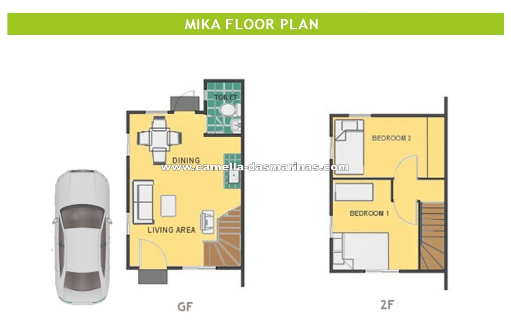 Mika  House for Sale in Dasmarinas City