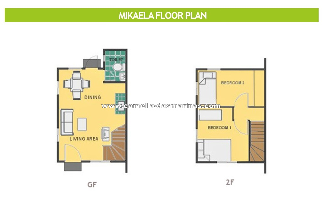 Mikaela  House for Sale in Dasmarinas City