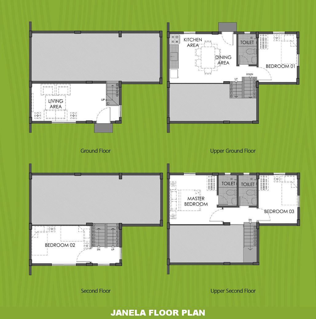 Janela  House for Sale in Dasmarinas City