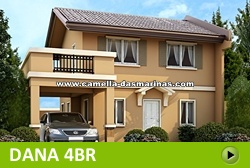 Dana House and Lot for Sale in Dasmarinas Philippines