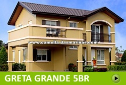 Greta House and Lot for Sale in Dasmarinas Philippines