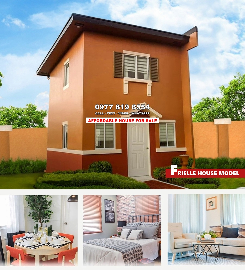 Frielle House for Sale in Dasmarinas