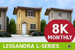 Lessandra Affordable Houses in Camella Dasmarinas